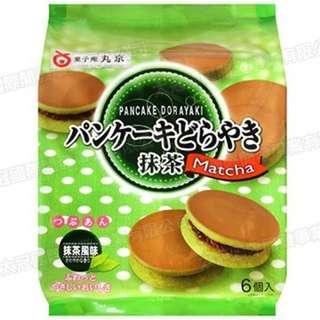 🚚 最後出清 ↘下殺$99】 丸京製菓 鬆餅銅鑼燒[抹茶風味