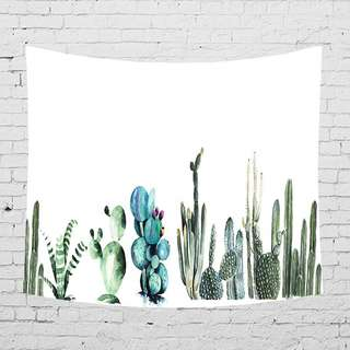 Wall Decor Cactus Series #4 Tapestry