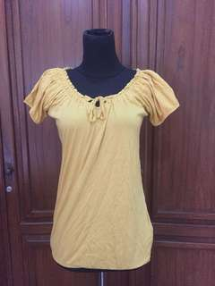 New Look Yellow Top