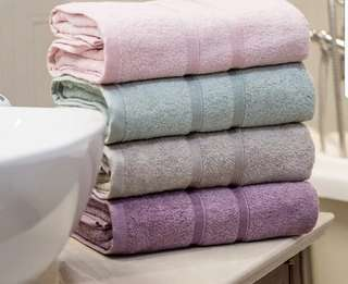 100% Bamboo Fiber Bath Towel ( kids handkerchief avail too)