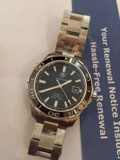 Tag Heuer Aquaracer WAK2110 Ready Stock