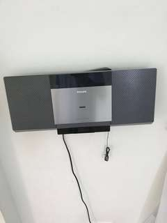 Philips Cd and iPod docking stereo