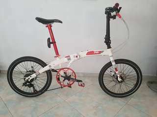 Folder bicycle