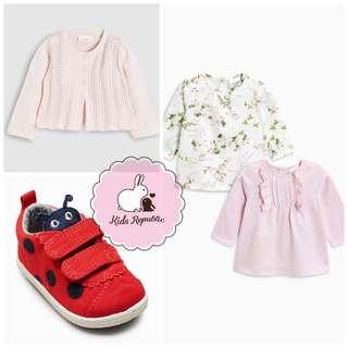 KIDS/ BABY - Cardigan/ Trainers/ tshirt