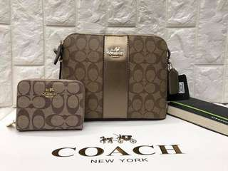 Coach bundle with wallet