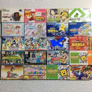 日版任天堂Gba game $65隻(包平郵)