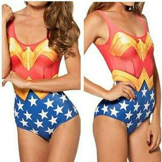 Wonderwoman One Piece Swimsuit Costplay