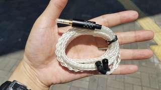高端8絞粗純銀 耳機線 升級線 Jh audio Lola JH13 JH16 ROXANNE Astell & Kern Angie