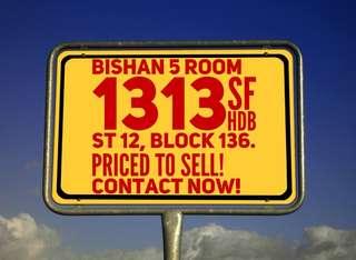 5 Room HDB Flat 1313sqft
