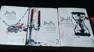 Buffy the vampire slayer (volume 1,2 and 3)