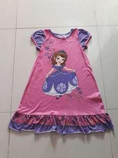 Dress Sofia Disney Ori 7/8 Good
