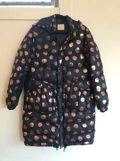 Gorman spotter puffer jacket size 12