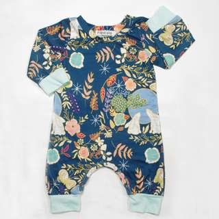🚚 ✔️STOCK - RAYA TRIBAL GARDEN JUMPSUIT UNISEX NEWBORN BABY TODDLER BOY/GIRL PANTS ROMPER ONESIE KIDS CHILDREN CLOTHING