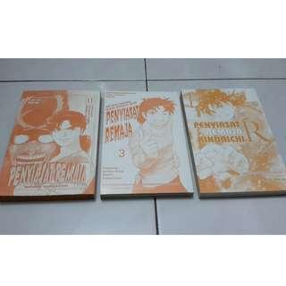 Manga (B. Melayu): Siri Penyiasat Remaja Kindaichi (3 buku)