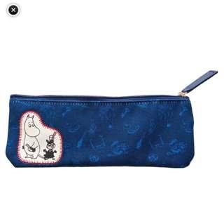 日本直送- 日本姆明系列姆明牙刷袋(筆袋) ムーミン 歯ブラシポーチ ムーミンとリトルミイ