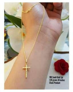 18k pawnable saudi gold
