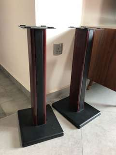 Speaker stand with Solid Rose wood