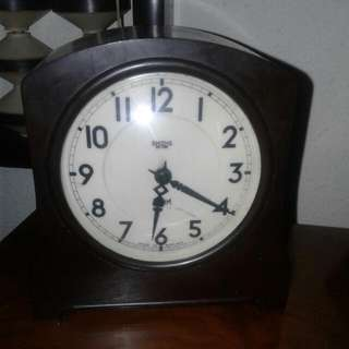 Smith England Table Clock