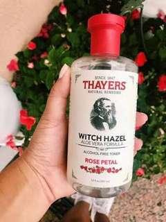 THAYERS WITCH HAZEL ROSE PETAL