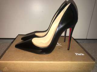 Authentic SO KATE 120mm Christian Louboutin