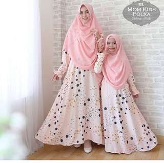 Dress hijab mom + kids