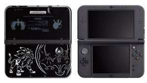 3ds xl limited sun & moon edition