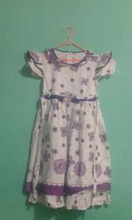 Dress anak 6-9th