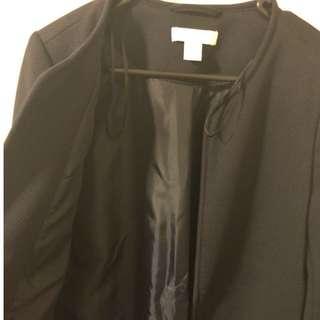 H&M Long Coat Size Euro 38 (M/L)