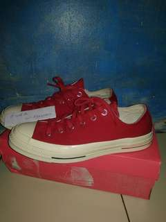 Converse 1970s OX Heritage Court Gym Red