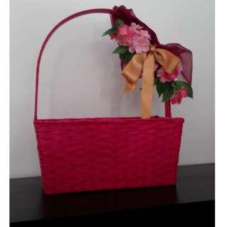 Fruit and Floral Basket