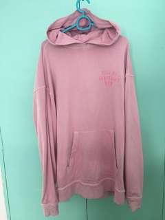 Tell Me Something New pink hoodie