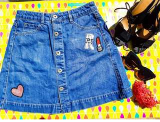 ONLY JEANS SKIRT