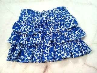 2t girl skirt (blue)