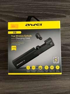 Awei真無線藍牙耳機 Awei True wireless Bluetooth earphones