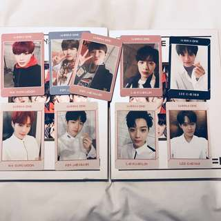 [wts/wtt] wanna one undivided photocards