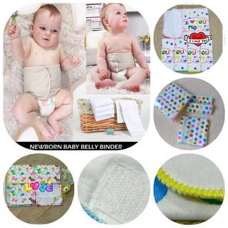 🚚 Baby tummy binder baby navel protector. Cotton Velcro.Cheapest!