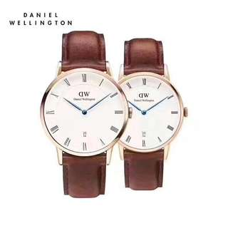 Daniel Wellington rose gold dapper Couple watch 38mm&34mm st maves brown and black Sheffield all avail
