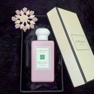 jo malone green almond & redcurrant edc 100 ml box original murah