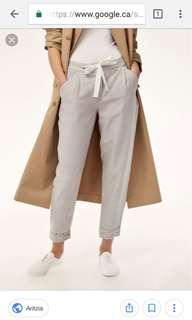 WILFRED • ARITZIA Allant linen pants