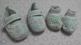 Baby Girl Prewalked Shoes
