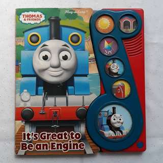 Boardbook Thomas and Friends - It's Great to Be an Engine