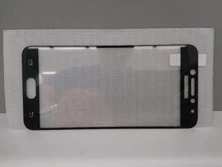 全新 Samsung Galaxy C5 Pro 全屏玻璃貼(黑/金)