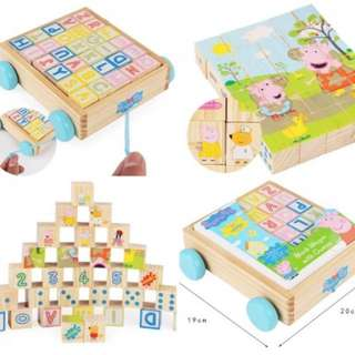 Peppa Pig ABC blocks