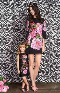 🐊D&G inspired Floral Mom and Daughter set