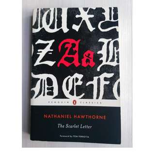 A level literature books / classics: The Scarlet Letter by Nathaniel Hawthorne - free normal local postage