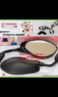0606** YAMAHA Genuine Parts **Side Mirror** Spark, FZ16, Jupiter MX, SNIPER 150, Etc....