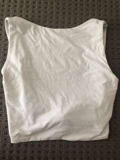 Kookai Crop Top White