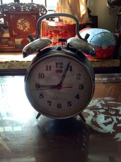 Vintage mechanical alarm clock