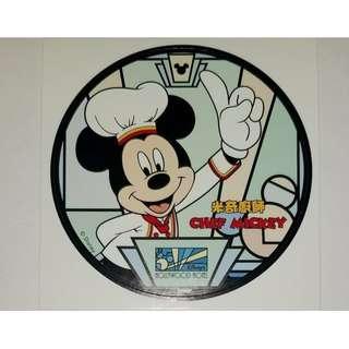 Disney Chef Mickey sticker 米奇廚師貼紙 1 張