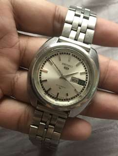 seiko 5 vintage 23 jewels automatic 5126-7020